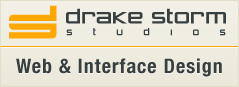 Drake Storm Studios Web Design